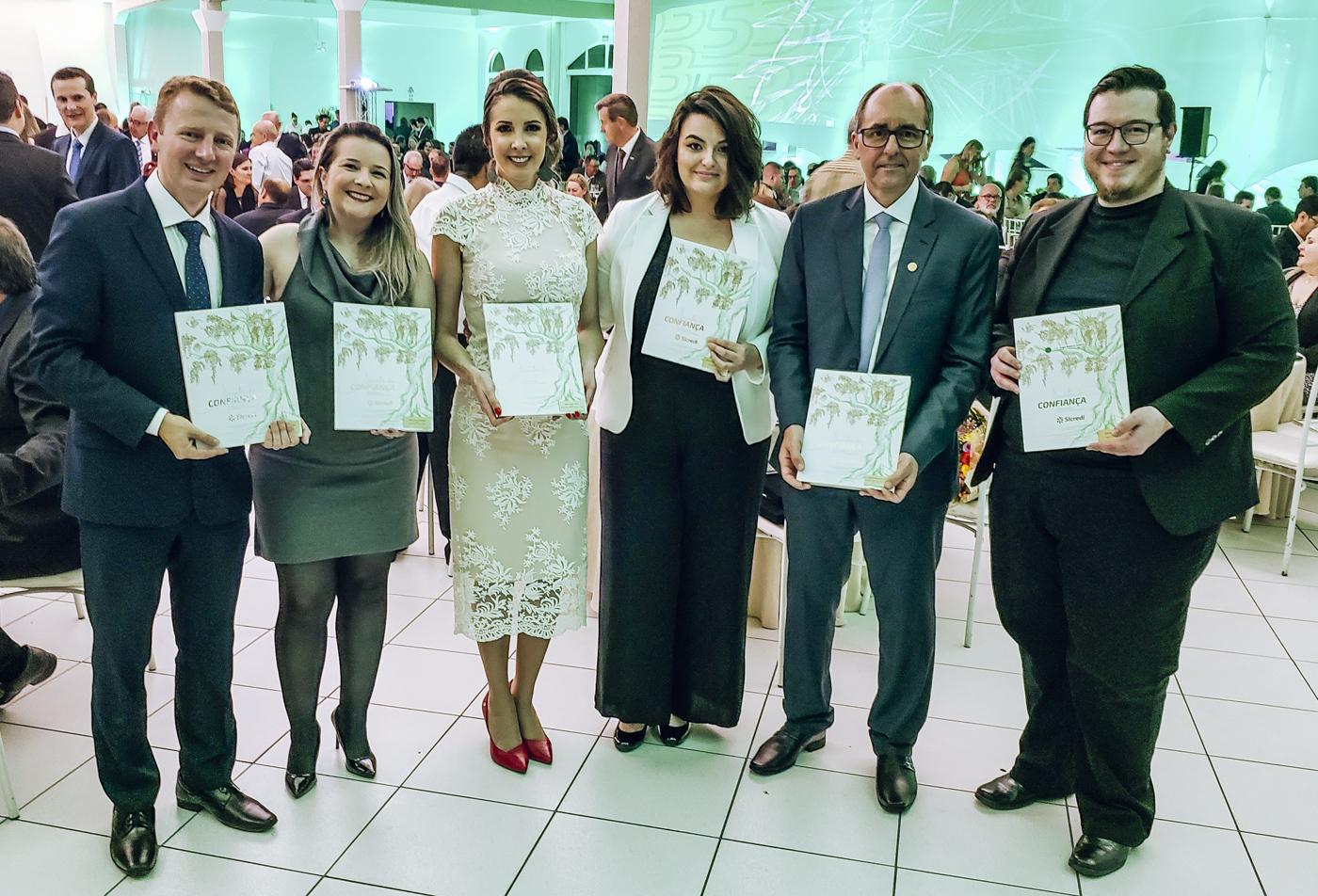 Lançamento do livro Sementes da Confiança em Prudentópolis/PR.
